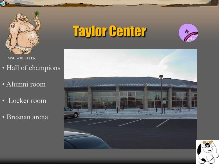 Taylor Center