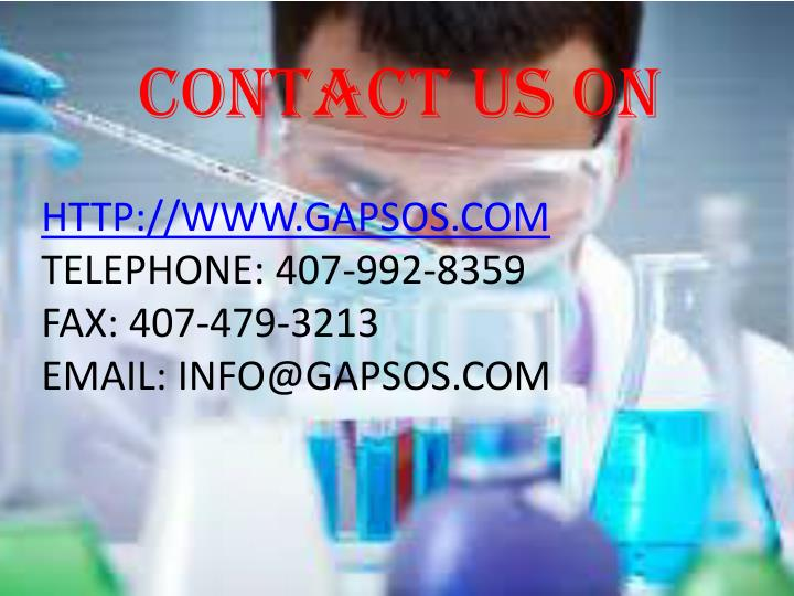 Contact us on