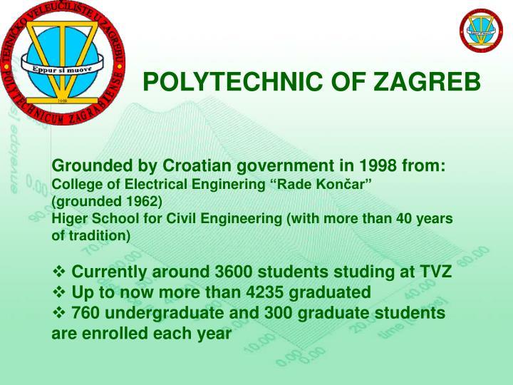 POLYTECHNIC OF ZAGREB