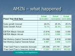 amzn what happened