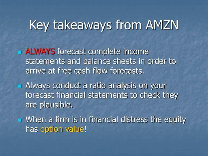 Key takeaways from AMZN