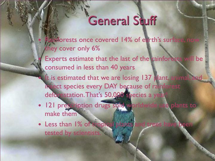 General Stuff