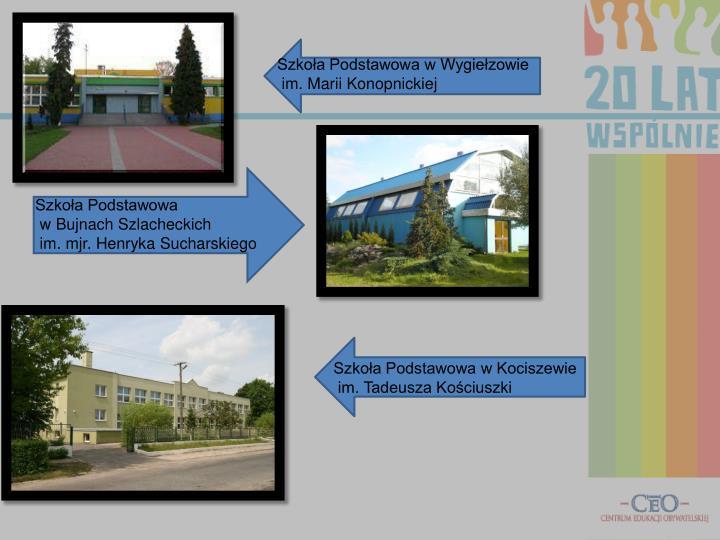 Szkoła Podstawowa w Wygiełzowie