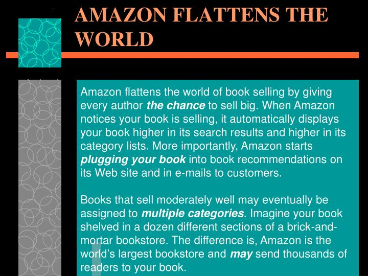 AMAZON FLATTENS THE WORLD