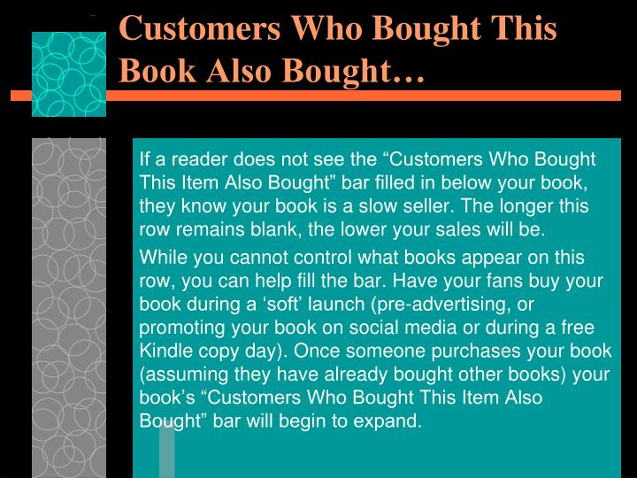Customers Who Bought This Book Also Bought…