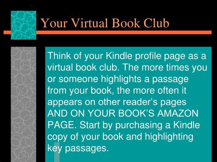 Your Virtual Book Club