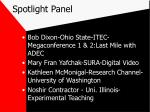 spotlight panel