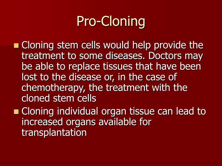 Pro-Cloning