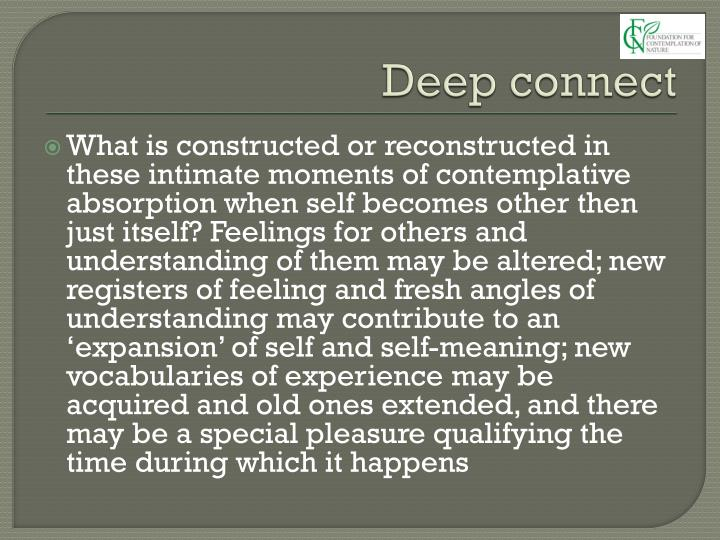 Deep connect
