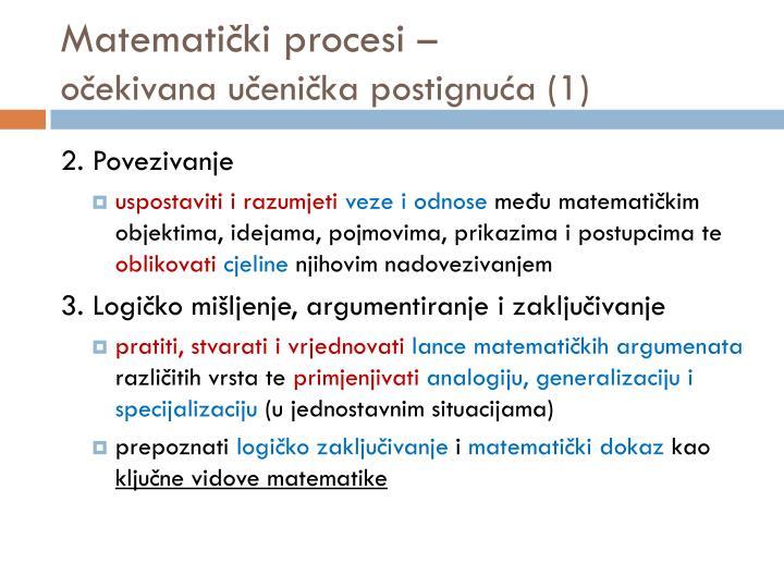 Matematički procesi