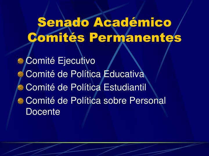 Senado Académico