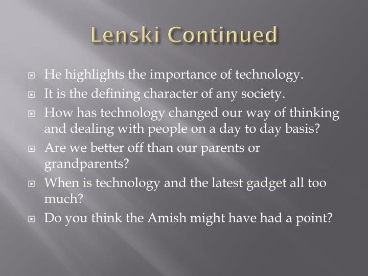 Lenski