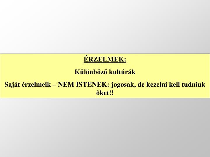 ÉRZELMEK: