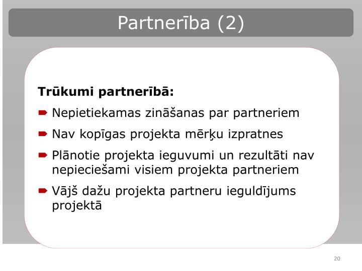 Partnerība (2)