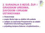 2 suradnja s mzo up i gradskim uredima zavodom i drugim ustanovama