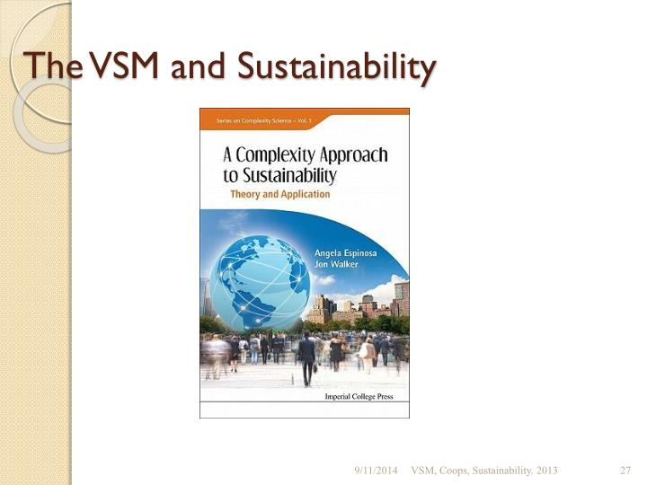 The VSM and Sustainability