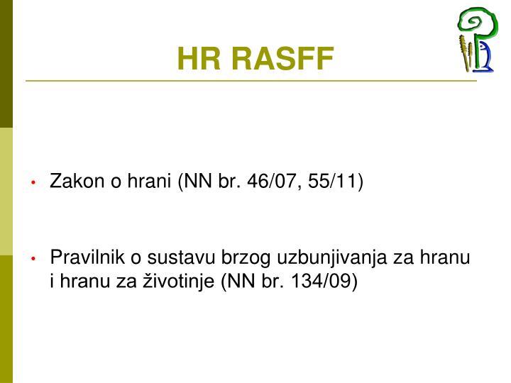 HR RASFF