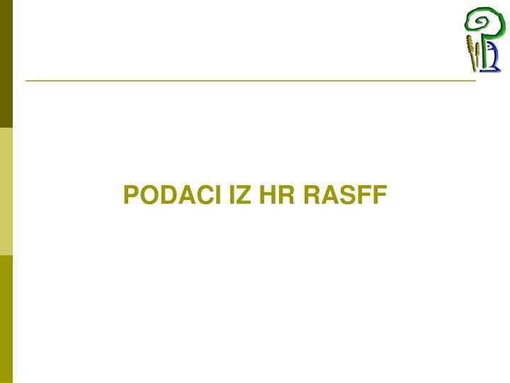 PODACI IZ HR RASFF