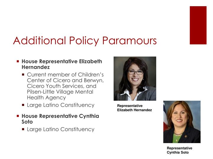Additional Policy Paramours
