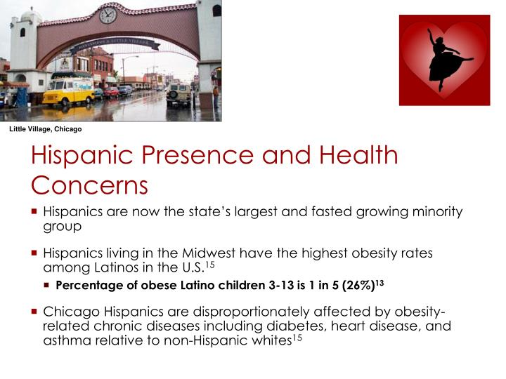 Hispanic Presence and Health Concerns