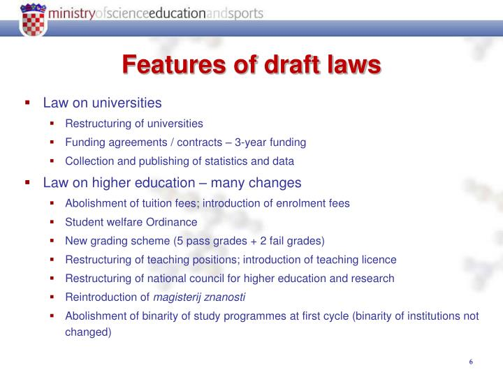 Law on universities