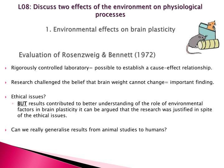 Evaluation of Rosenzweig
