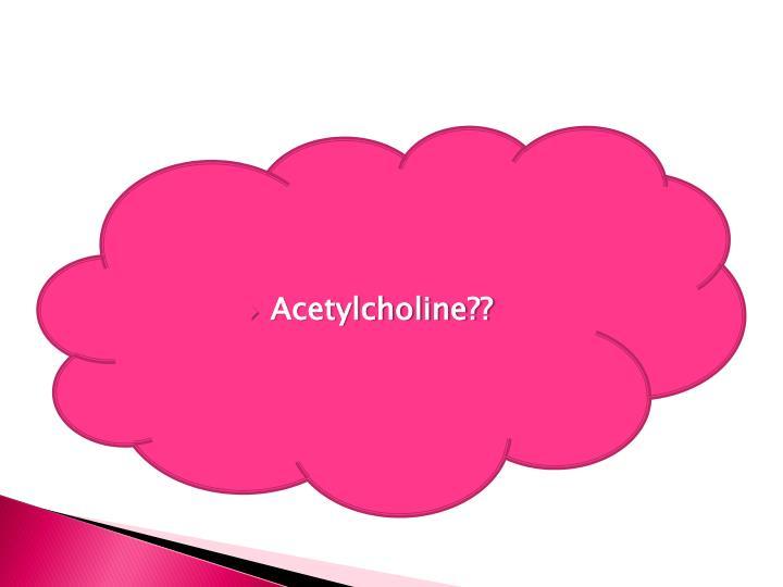 Acetylcholine??