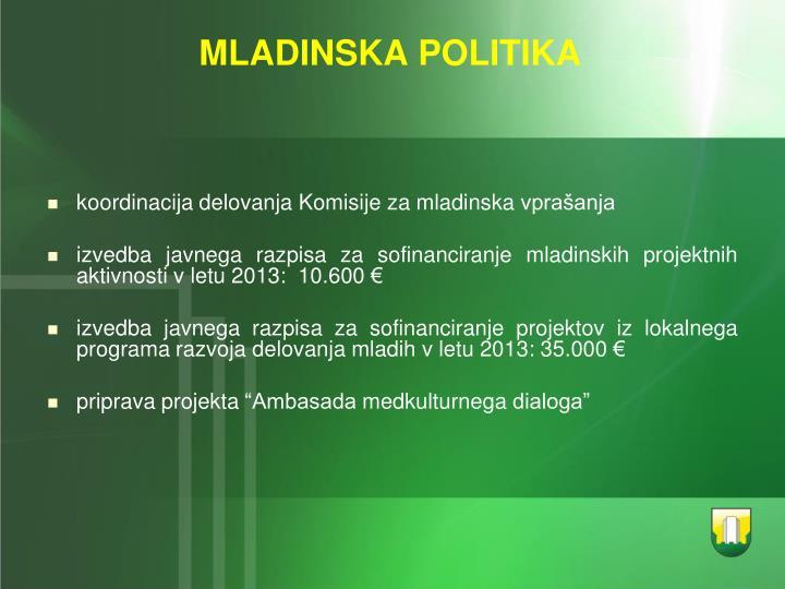 MLADINSKA POLITIKA