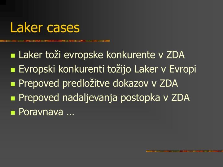 Laker cases