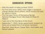 damascus spring
