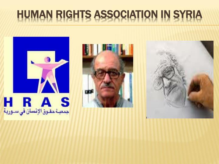Human Rights Association in Syria