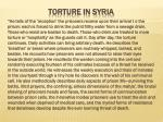 torture in syria