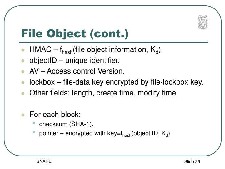 File Object (cont.)