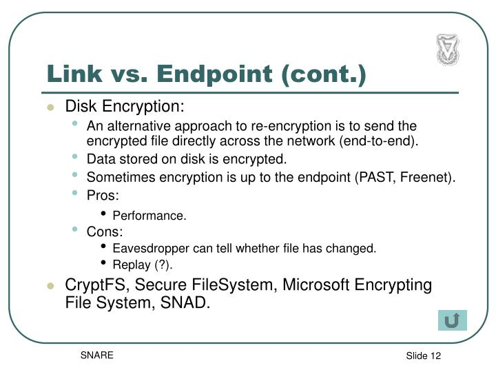 Link vs. Endpoint (cont.)