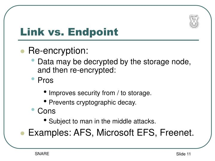 Link vs. Endpoint