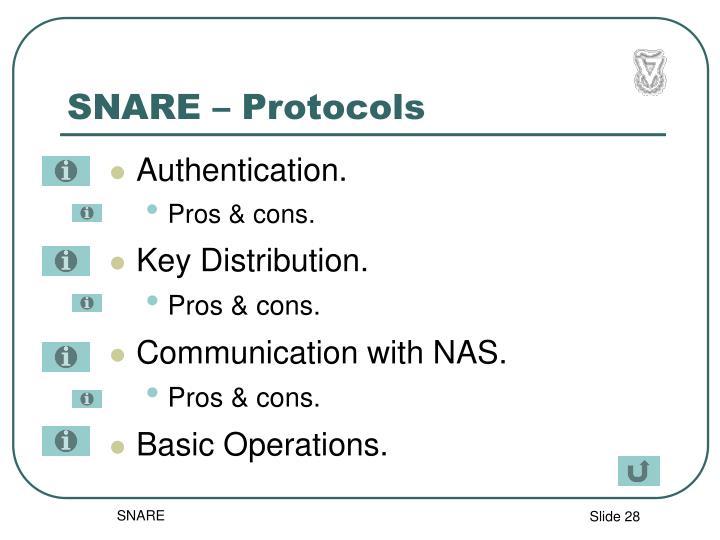 SNARE – Protocols