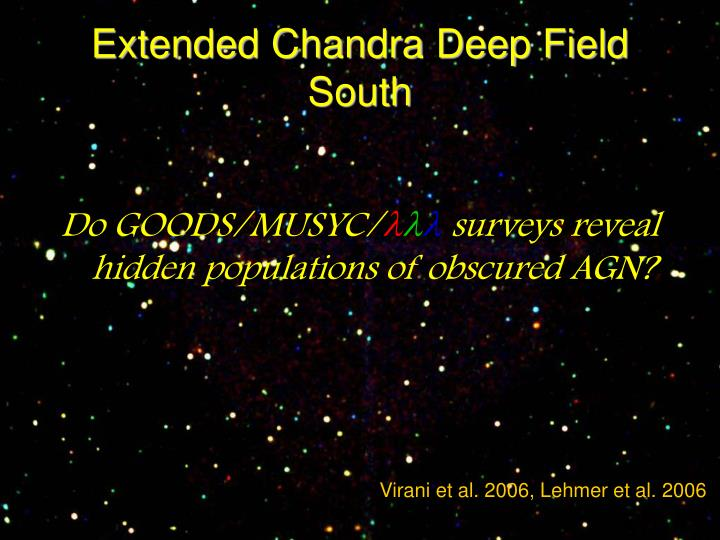 Extended Chandra Deep Field South