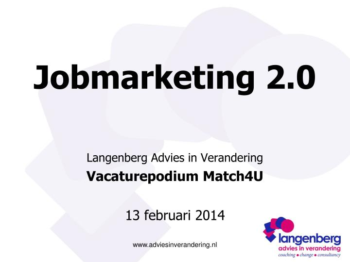 Jobmarketing 2 0