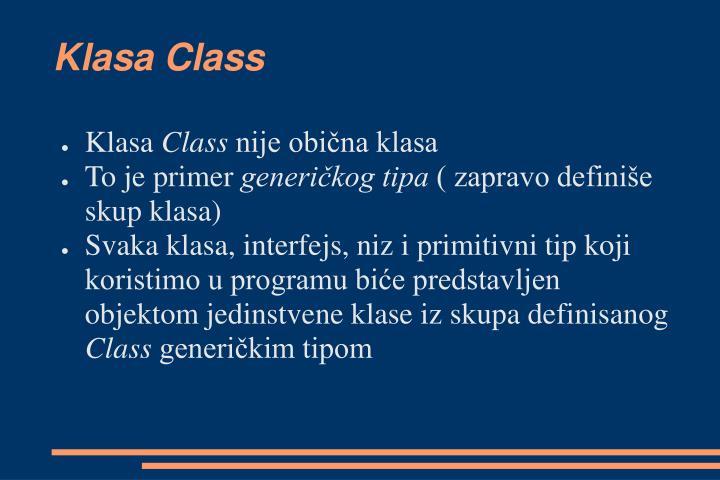 Klasa Class