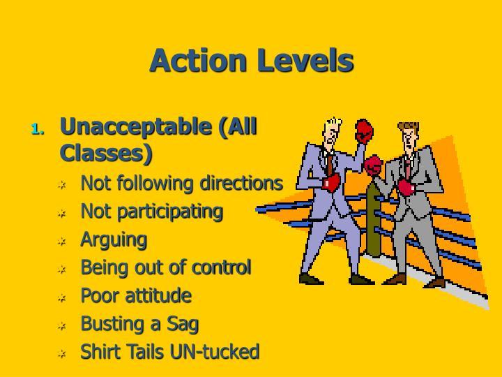 Action Levels