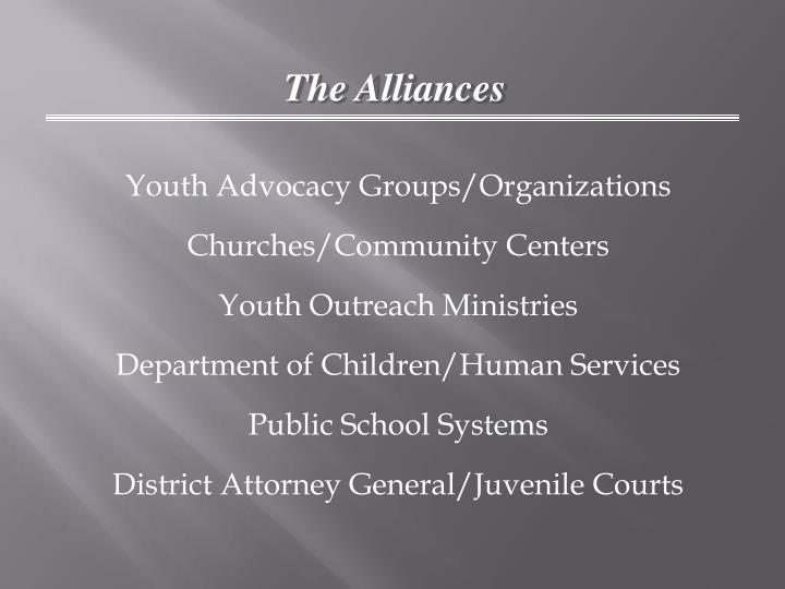 The Alliances