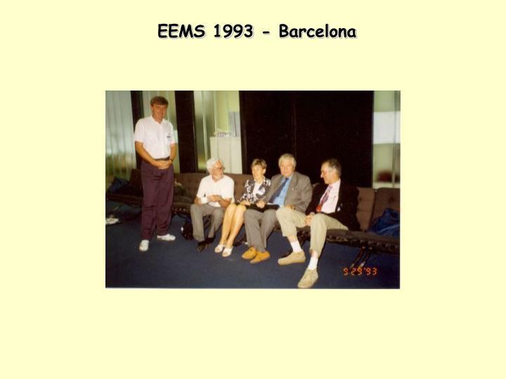 EEMS 1993 - Barcelona