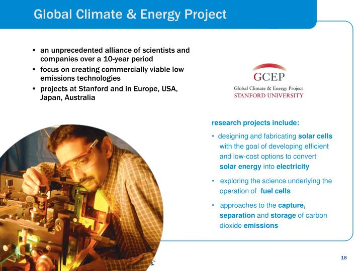 Global Climate & Energy Project