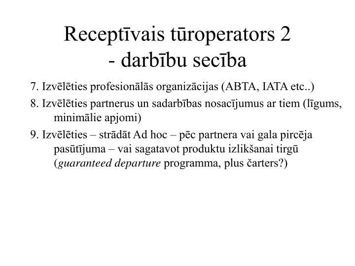 Receptīvais tūroperators 2