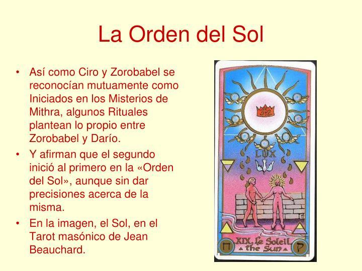 La Orden del Sol