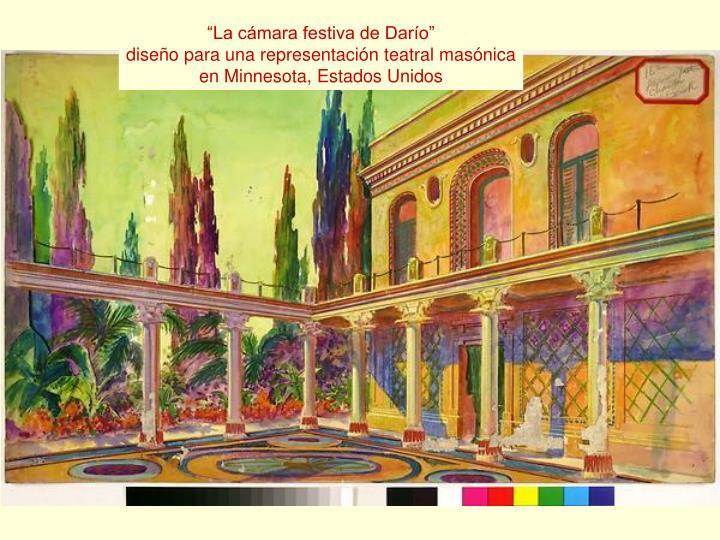 """La cámara festiva de Darío"""