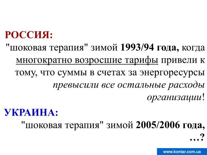 РОССИЯ:
