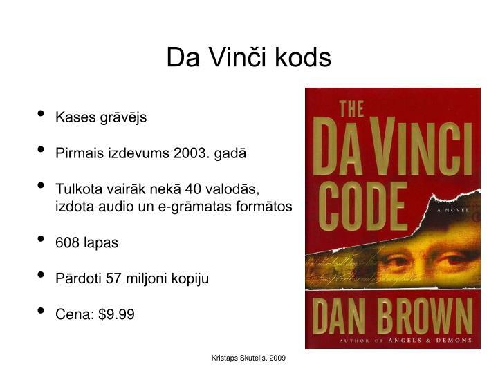 Da Vinči kods