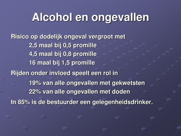 Alcohol en ongevallen