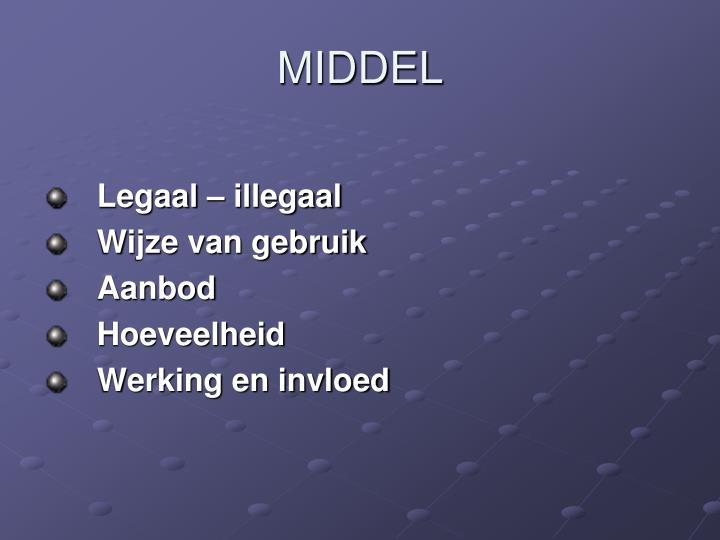 MIDDEL